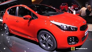 2017 KIA Ceed GT Line - Exterior and Interior Walkaround - 2016 Paris Motor Show