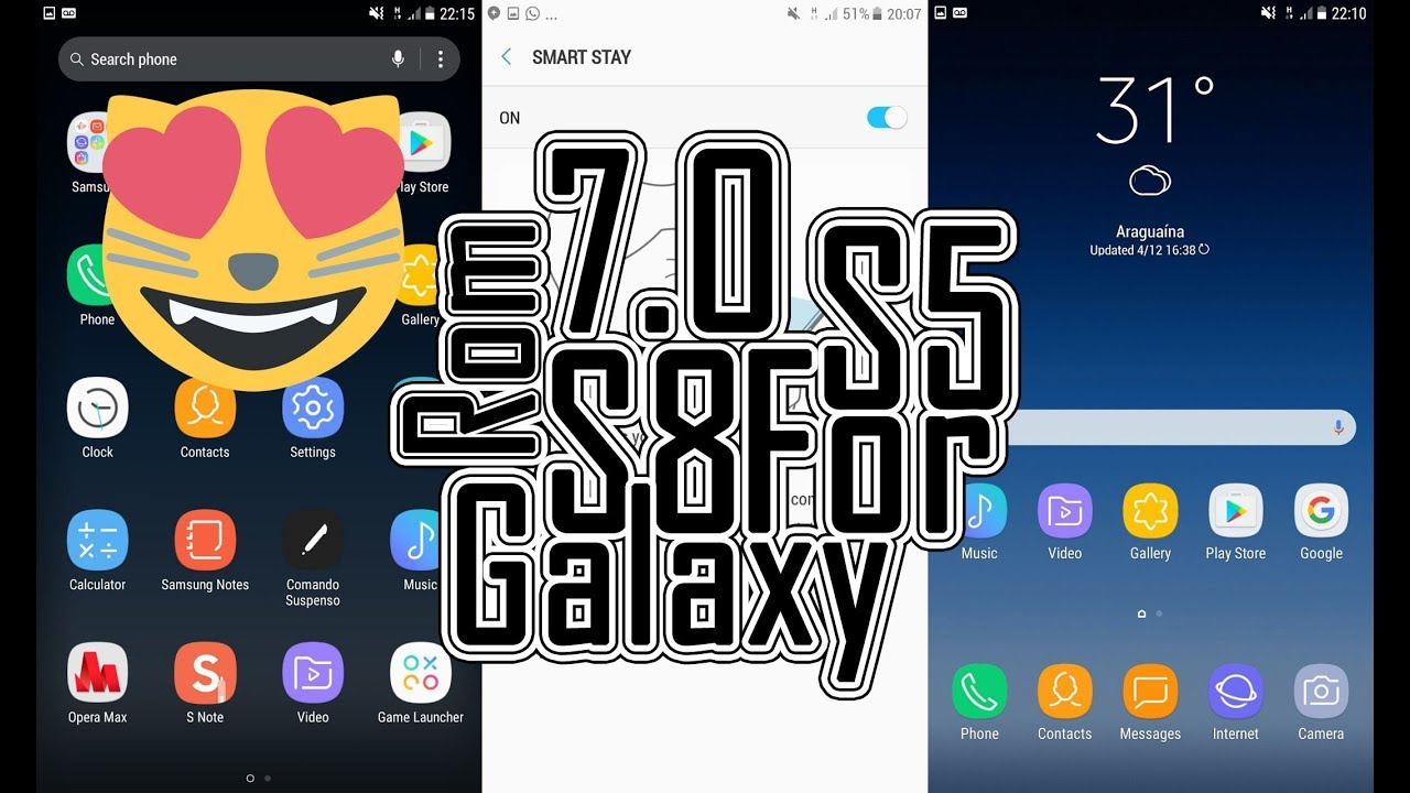 Android 7 0 Official S8 Rom For S5 SM-G900F/M/FD/MD - Gentle Droid