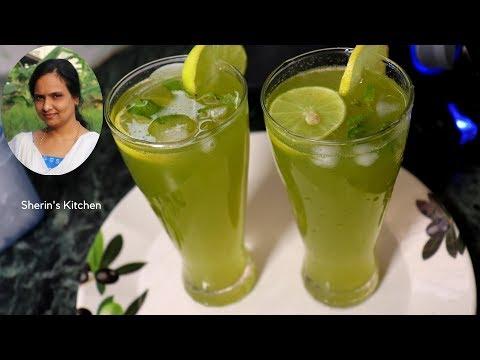 புதினா எலுமிச்சை ஜூஸ் செய்வது எப்படி | How To Make Mint Lemon Juice | Summer Special Juice