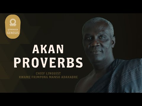 Akan Proverbs And Their Meaning