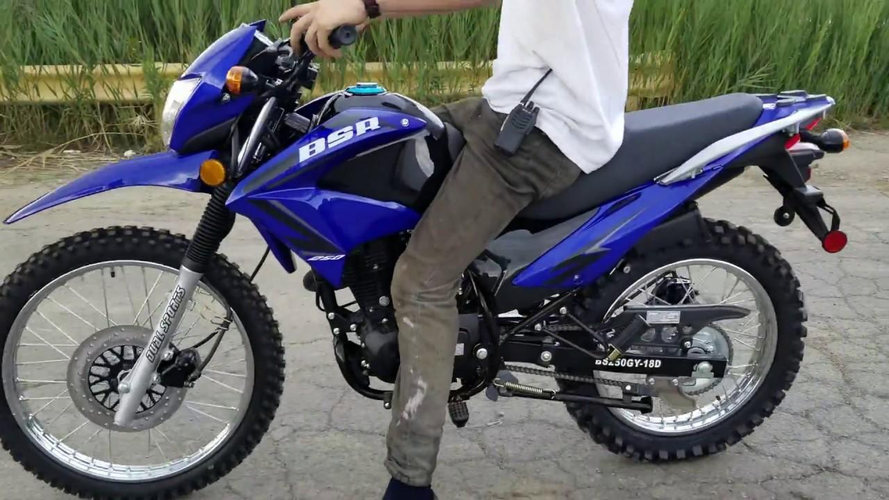 250cc Street Legal Dirt Bike Hawk 2 Enduro Dual Sport ...