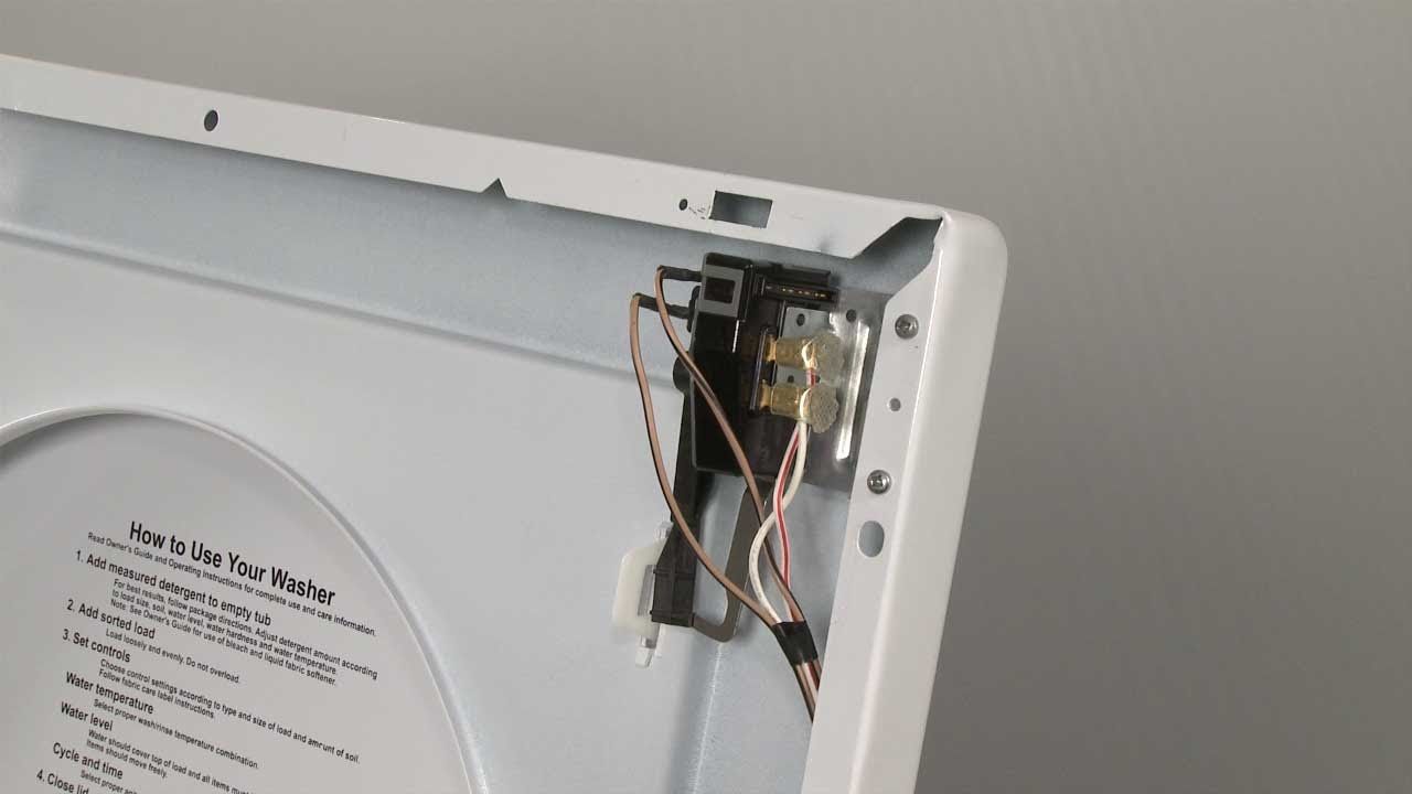 Frigidaire Washer Won T Spin Replace Lid Switch