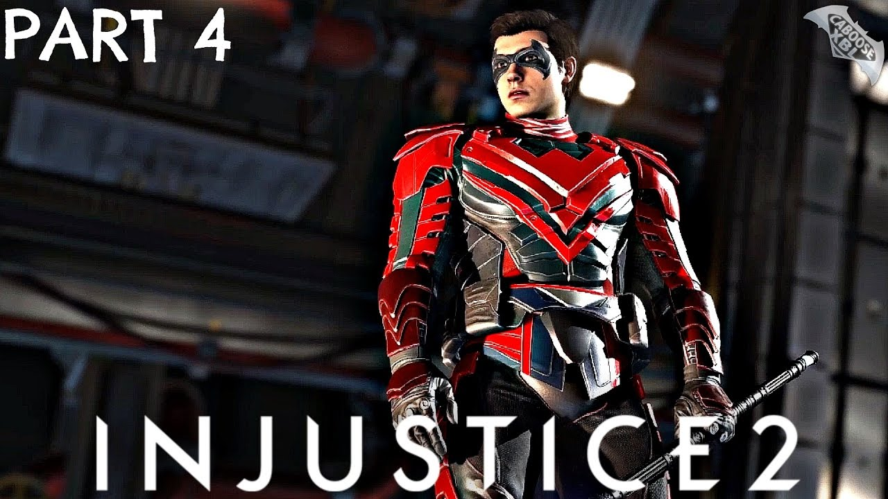 Injustice 2 Story Mode Walkthrough Part 4 - Damian Wayne ...