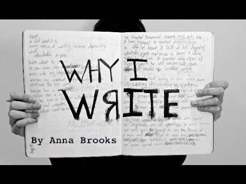 Why I Write - A Digital Story