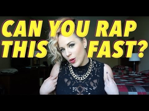 CAN YOU RAP THIS FAST? TRY IT! (Boss Level - Eh440/Stacey Kay)