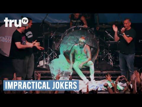 Impractical Jokers - Murr the Human Drum (Punishment)   truTV