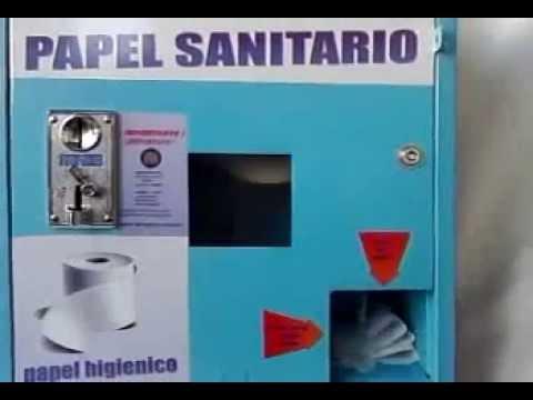 Dispensador de papel higienico youtube for Dispensador de papel higienico