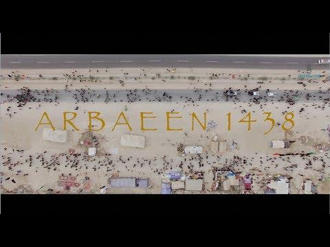 ARBAEEN - The WALK of the FREE in 4K (Najaf to Karbala) & Ziyarat 1438/2016