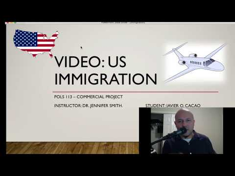 US Immigration: Video Project