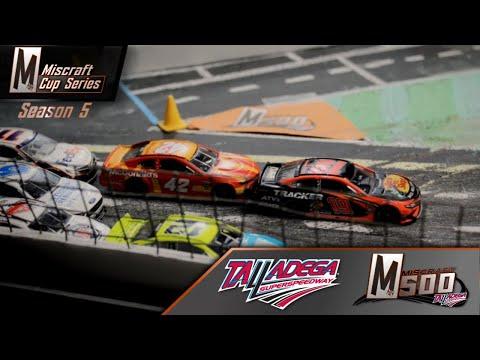 NASCAR Stop-Motion: Miscraft Cup Series // S5 R8 // Talladega