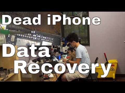 iPhone data recovery from dead logic board
