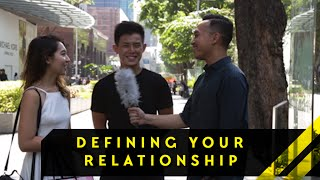 Is It Important To Define Your Relationship? | Word On The Street