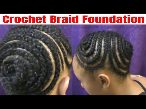 Crochet Braids Foundation For Ponytail Or Updo Jjackee Kookz