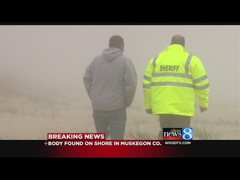 Body found on shore in Muskegon County