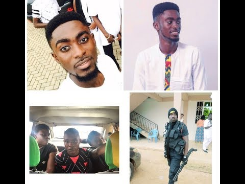 18 years boy Arrested for Allegedly Defrauding Kumawood Actor Jackson Reagan