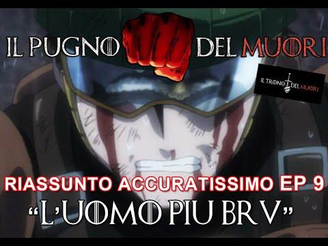 """RECENSIONE ONE PUNCH MAN EPISODIO 9  """"L'UOMO PIU BRV"""" RIASSUNTO ACCURATISSIMO"""