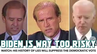 WATCH: Joe Biden's History Of Lies Is Too Risky For Democrats Support the show at TheRationalNational.com /Join  Donate Directly at PayPal.me/daviddoel Tip at streamlabs.com/therati onalnational/tip  'Join' ..., From YouTubeVideos