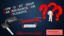 How To Find Lowest Premium Car Insurance For College Students | Best Quotes