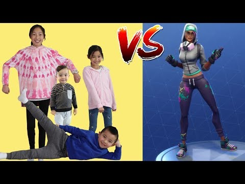 BOYS Vs GIRLS Fortnite Dance Challenge!! Ckn Toys