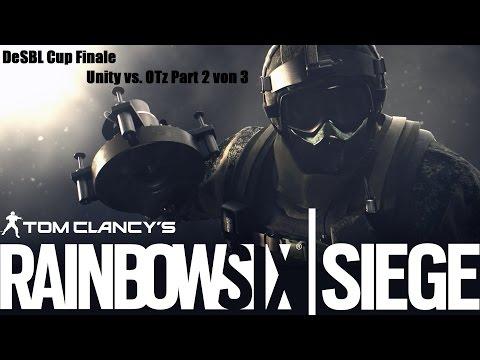 Rainbow Six Siege DeSBL Cup Finale Unity vs. OTz [Part 2 von 3]