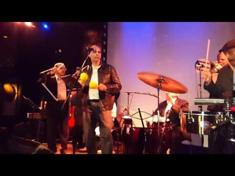 Ed Martinez & CONJUNTO SABOR @ SOB featuring  Chico Alvarez on vocals