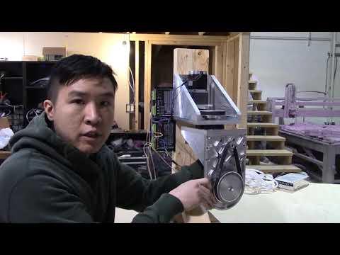 DIY 5 Axis CNC - Well built young grasshopper