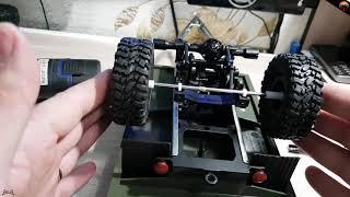 Переделка прицепа wpl. WPL model trailer