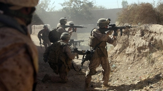 U.S. Marines in Afghanistan - Brutal FIREFIGHTS and CLASHES With Taliban. Real Combat 720p HD