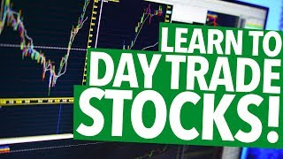 LEARN TO DAY TRADE! THE SIMPLE GUIDE!