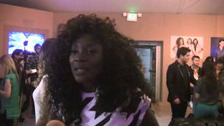 'X Factor' - Lillie McCloud - Backstage Interview (11-13-13)