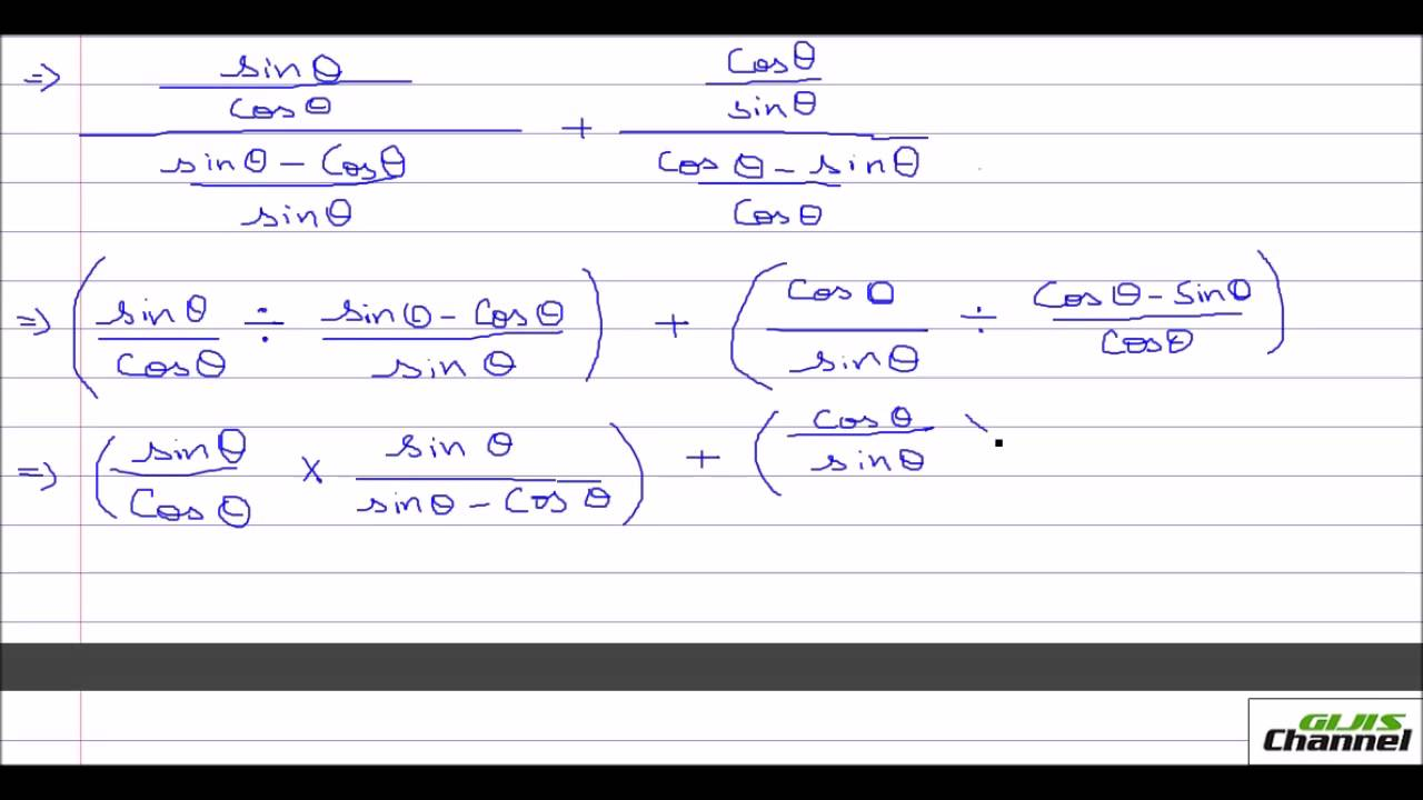 Tough problems in proving Trigonometric Identities