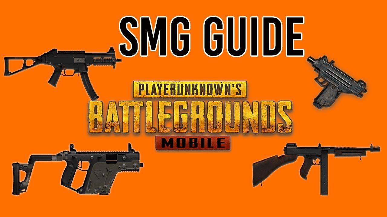SMG Guide |Best Attachments | PUBG Mobile