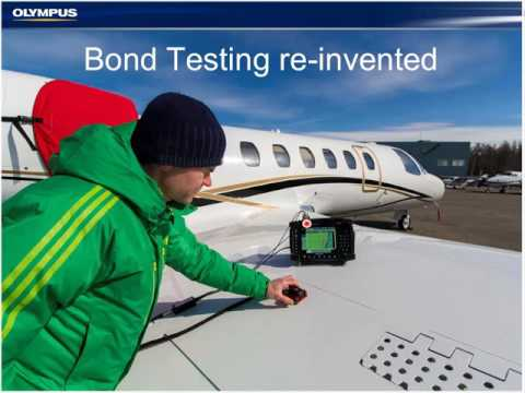 Bond Testing C scan   Inspection of Composite Honeycomb Structures using the OmniScan MX