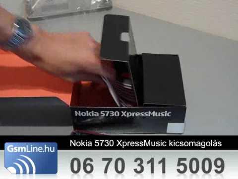 Nokia 5730 XpressMusic | www.GsmLine.hu