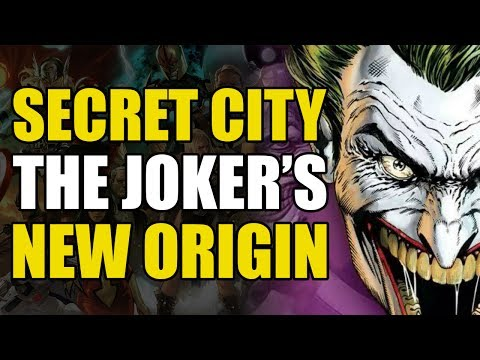 Batman Rebirth War of Jokes and Riddles Prelude: Joker's Origin