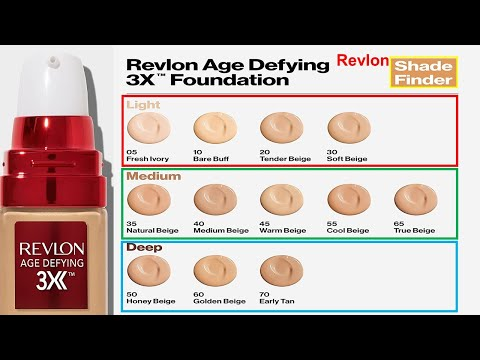 Download Revlon Age Defying 3X Makeup Foundation, Firming, Lifting and Anti-Aging