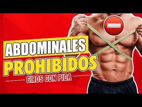 EJERCICIOS ABDOMINALES PROHIBIDOS - Ejercicios para abdomen: Giros con pica