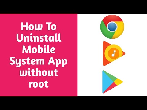 How To Uninstall (Remove) Mobile System App Without Root L Mobile Tech Tamil