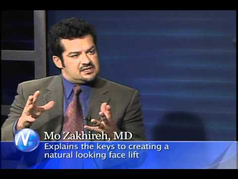 Dr. Mo Zakhireh, a board-certified plastic surgeon Palm Springs face lift with Randy Alvarez