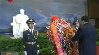 Maduro assina acordos na China e homenageia Mao