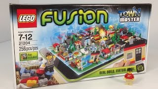 LEGO FUSION 21204 Town Master Set new for 2014 Unboxing