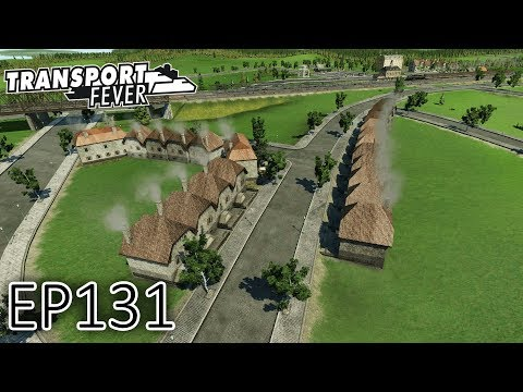 Transport Fever Gameplay   Custom Built City! (Part 1)   The Great Lakes   S2 #131