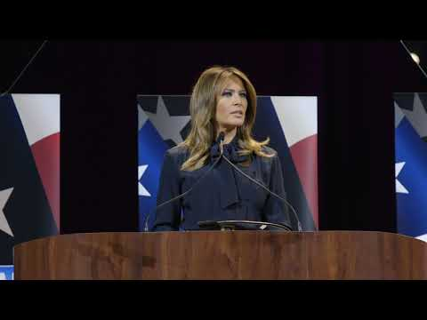 First Lady Melania Trump Attends an Opioid Town Hall in Las Vegas, Nevada