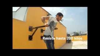 Soporte para hacer barras y paralelas (dominadas y fondos) - Fight Outlet Peru