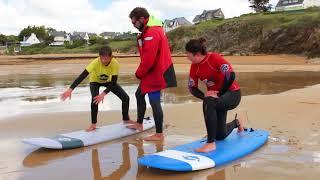 Ecole de surf de  Bretagne Clohars Carnoet