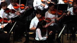 "2014 Honors Orchestra - ""Finale - Serenade No., 9 - Posthorn"""