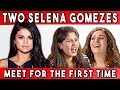 TWO SELENA GOMEZES MEET FOR THE FIRST TIME | Talking With Myself Ep #1 (FBE)