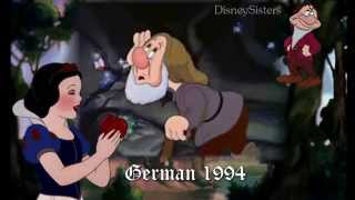 Snow White and the Seven Dwarfs - Heigh Ho (One Line Multilanguage Part 1)