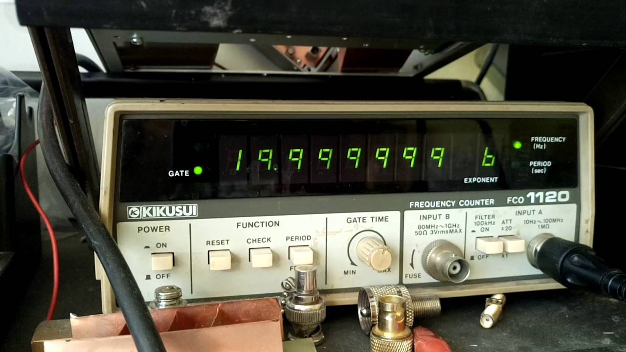 TCXO SO-2 replacement kenwood ts-870 frequency test