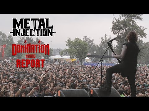 Domination Fest 2019 in Mexico with TRIVIUM, KHEMMIS, & SATYRICON | Metal Injection